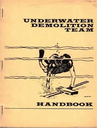 Underwater Demolition Team Handbook 1965 1st Edition