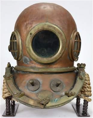 Nippon Sensui 12 Bolt 3 Light Japanese Diving Helmet