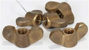 Wing Nuts For Asian Style Diving Helmet 5 New Old Stock