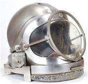 Rare Joe Savoie Stainless Steel Diving Helmet 1970s