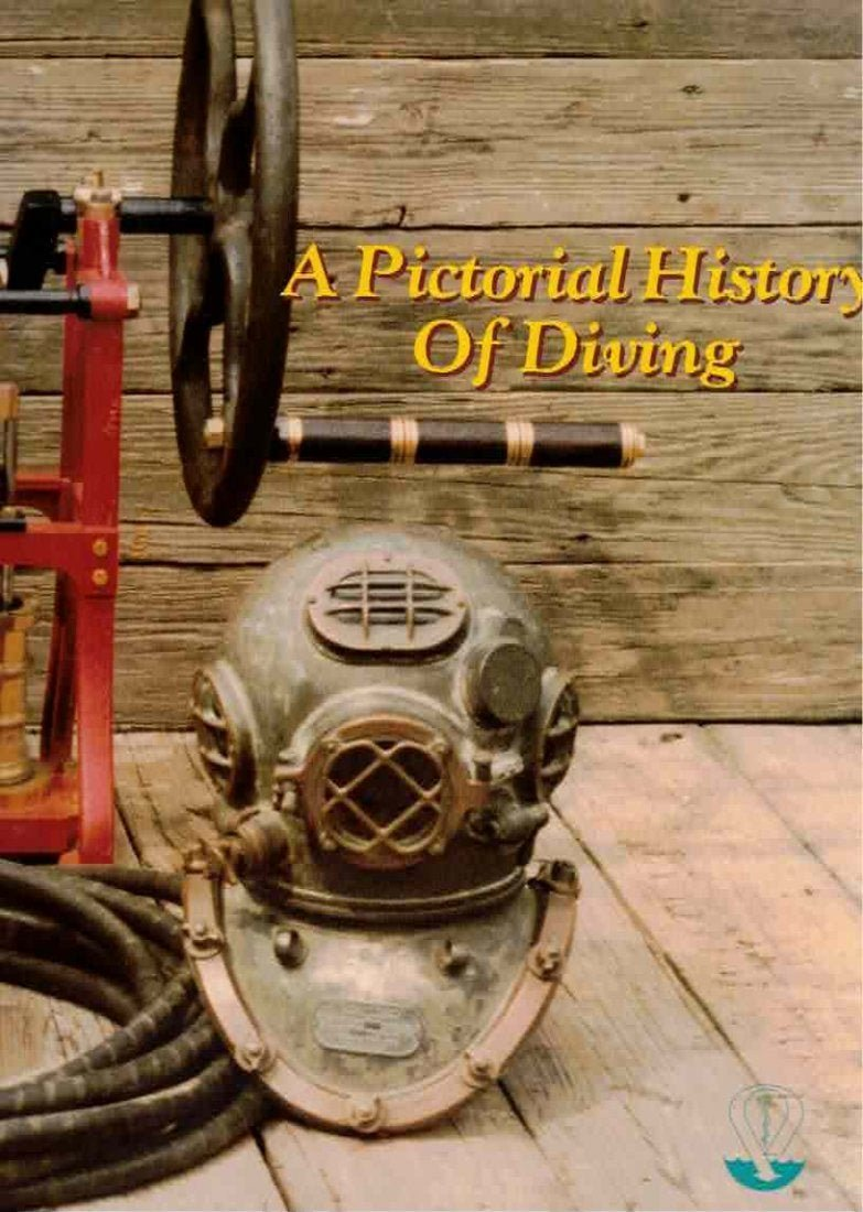Pictorial History of Diving 149 Pages - Like New