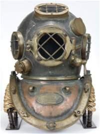 1916 US Navy Morse Mark V Diving Helmet Earliest Known!
