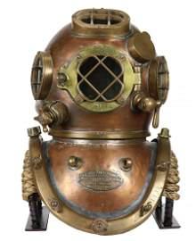 1942 Morse US Navy Mark V Diving Helmet Small Volume