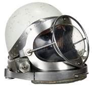 Rare Joe Savoie #49 Fiberglass Motorcycle Diving Helmet