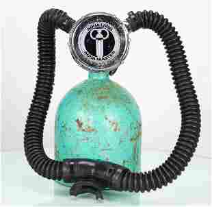 1970 US Divers Aqua-Master Double Hose Regulator
