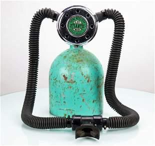 Submarine Products 1960s Atlantic Double Hose Regulator
