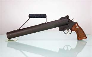 Smith & Wesson Chemical Co Line Thrower Rocket Launcher