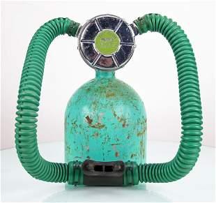 Voit Lung 1956 Green Label Sea Hunt Two Hose Regulator