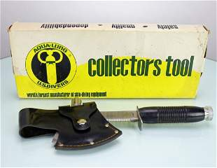 US Divers New In Box Collectors Tool Knife Ax Hammer