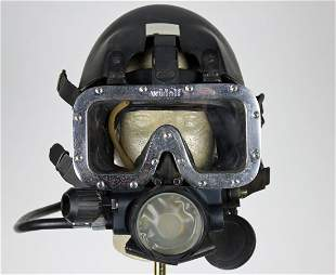 Widolf Scuba Mask With Regulator & Hard Hat