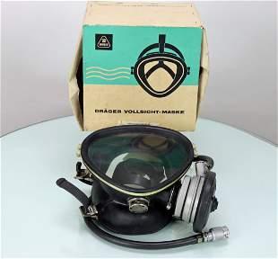Drager Vollsicht German Dive Mask New In Original Box