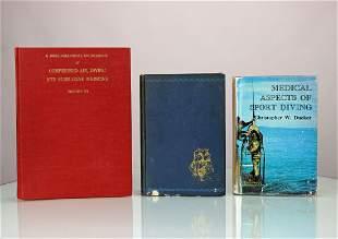 2 Medical Deep Diving Books & Hell On Ice by Ellsberg