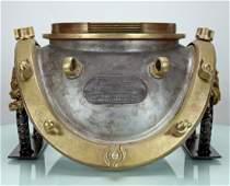 1944 Morse US Navy Mark V Diving Helmet Breastplate