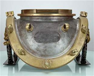 1944 Morse US Navy Mark V Diving Helmet Breastplate