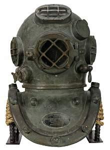 1943 US Navy Mark V Diving Helmet WWII Navy Lend Lease