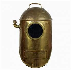 1915 Miller Dunn Divinhood Brass Diving Helmet 1st One?