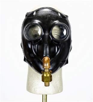 World War II Ohio Rubber Company Diving Helmet Mask