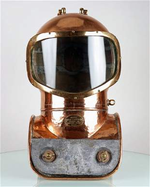 1940s Morse Model 15 Shallow Water Diving Helmet
