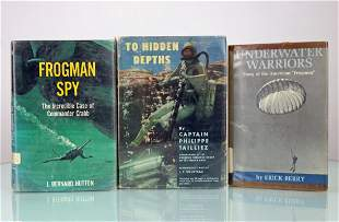 Frogman Spy, Underwater Warriors, Hidden Depths Books