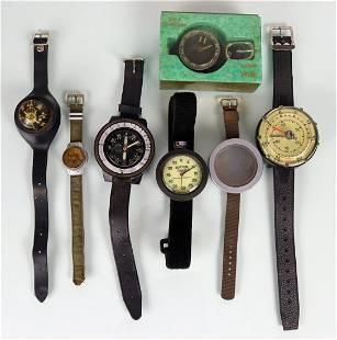 Scuba Compass, Timer, Depth & Watch Housing Grouping