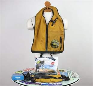 Big Grouping Assorted Vintage Scuba Items & Memorabilia