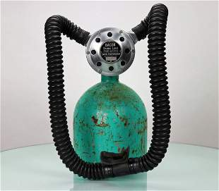 Dacor Diving Lung Dial A Breath Double Hose Regulator