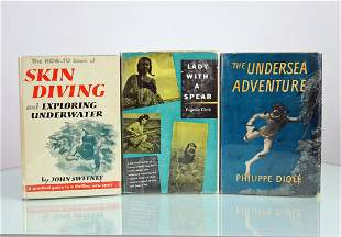 Skin Diving, Lady With A Spear, Undersea Adventure