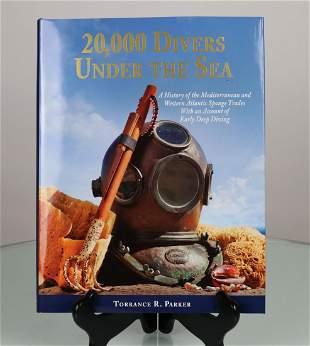 20000 Divers Under The Sea Book Signed Torrance Parker