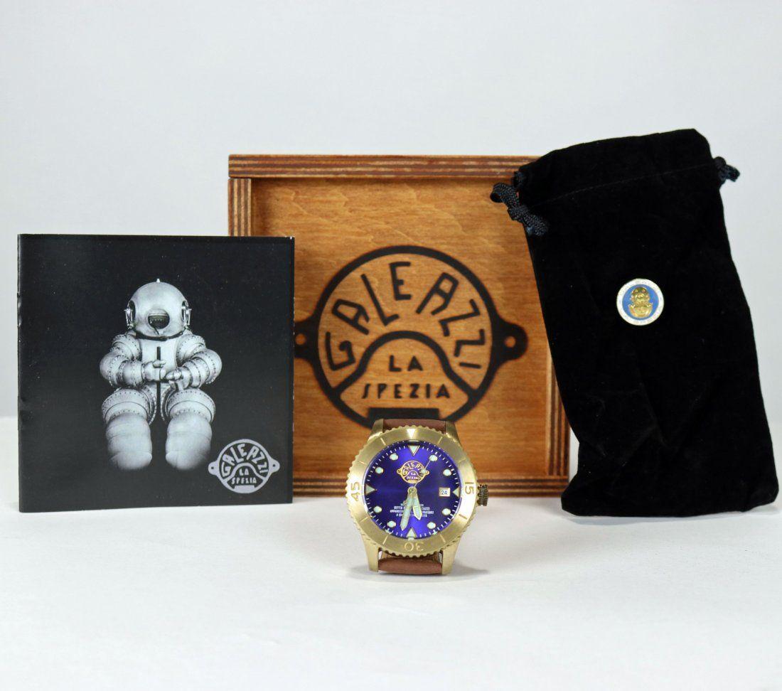 Galeazzi Marina Diving Helmet Divers Watch #77 of 100