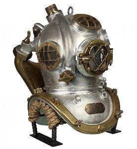 US Navy Mark V Mixed Gas Diving Helmet, The Widow Maker