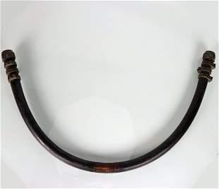US Navy Mark V Helmet Whip Hose Swan Rubber 1943