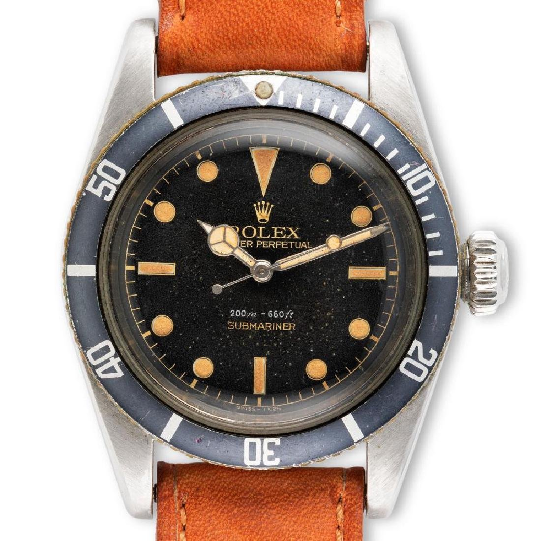 Rolex A Remarkable And Very Special Rolex Submariner