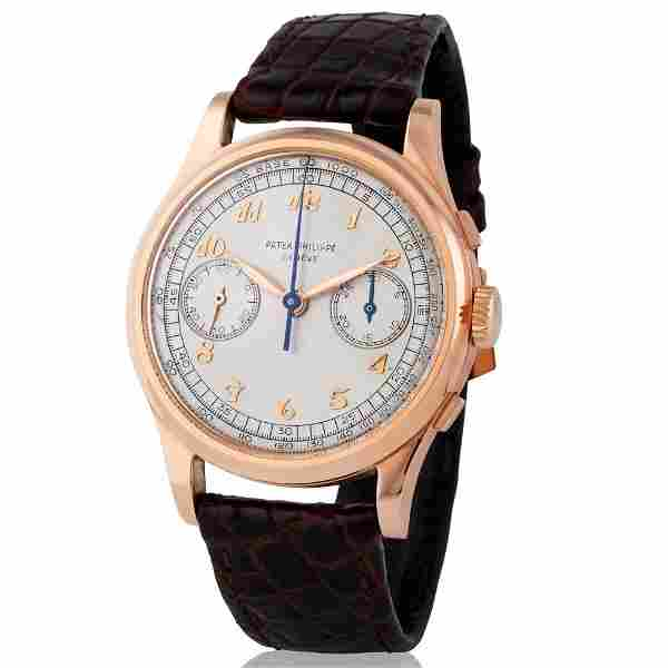 Patek Philippe. Large and Very Attractive Chronograph