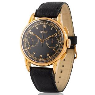 Longines. Unusual and Attractive Flyback Chronograph