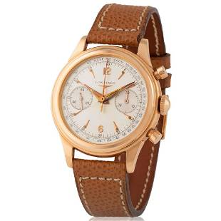 Longines. Fine and Rare 30CH Chronograph Wristwatch in
