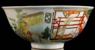 A Supreme WuCai StoryFigure Bowl