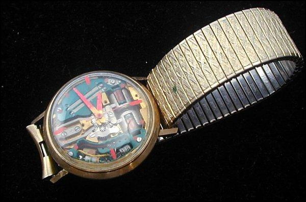 1: Bulova Accutron Model 214 Wrist Watch