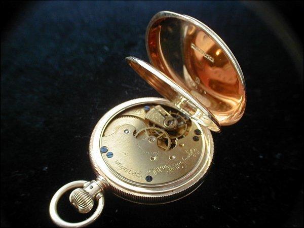 2: Elgin 14k Gold Hunter Case Pocket Watch