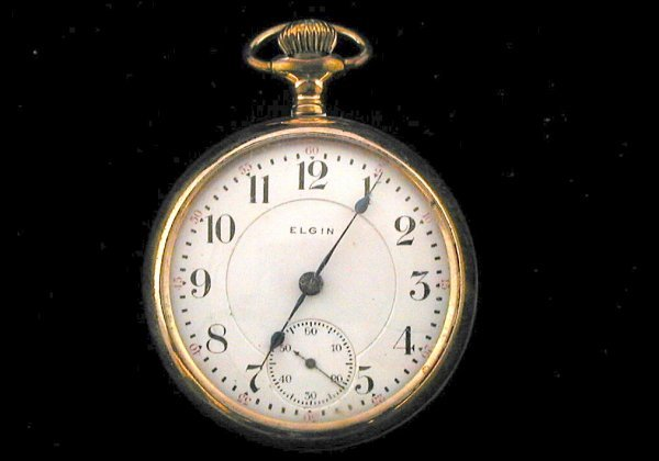 11: Elgin 17 Jewel Pocket Watch 1904