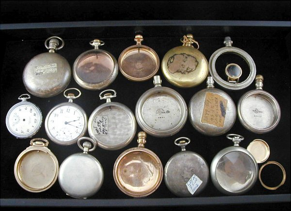 19: 15 Pocket Watch Cases