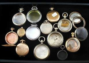 19 Pocket Watch Cases