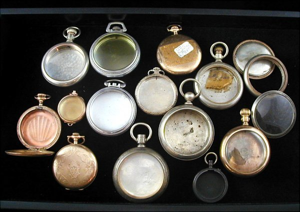 20: 19 Pocket Watch Cases