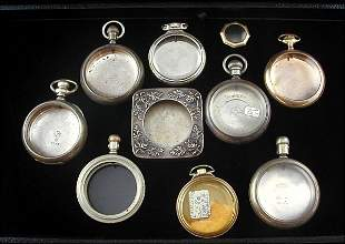 Watch Cases and Clock Frame