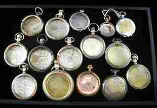 15 Pocket Watch Cases