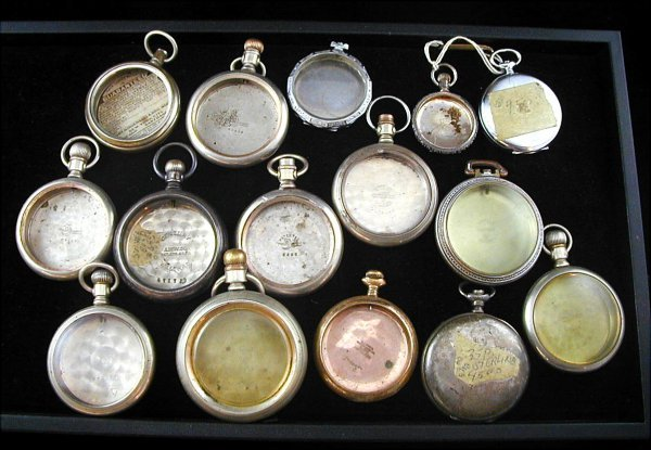 22: 15 Pocket Watch Cases