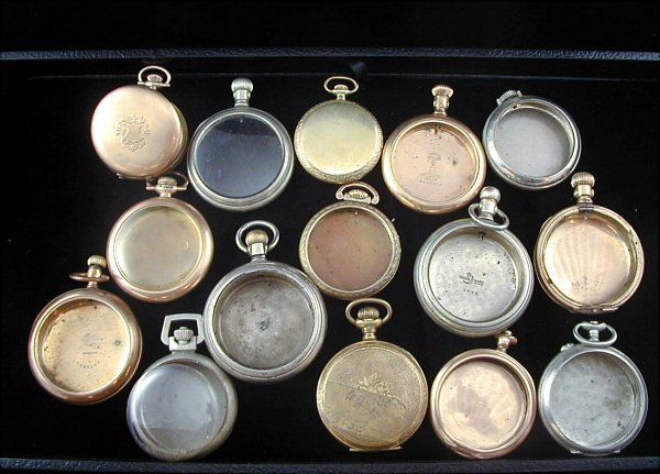 23: 15 Pocket Watch Cases