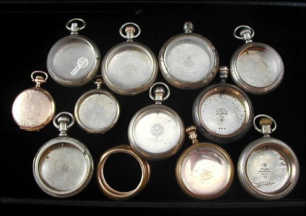 24: 10 Pocket Watch Cases