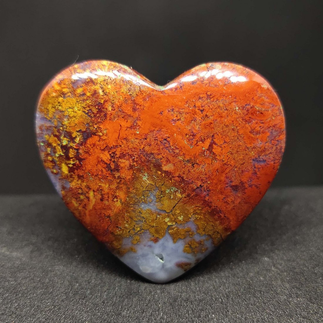 70.10 ct Natural Red Moss Agate