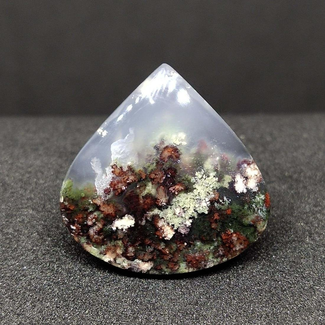 23 ct Natural Moss Agate