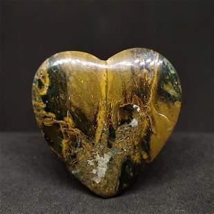 72.35 ct Natural Jasper Heart Shape